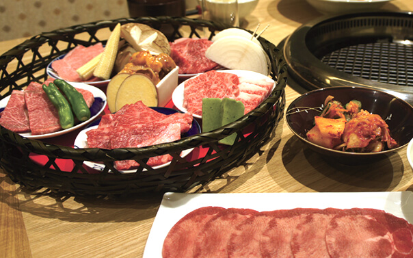 農家レストランだいきち 大津堅田店の焼肉コース