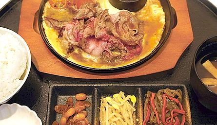 農家レストランだいきち 大津堅田店の定番ランチ