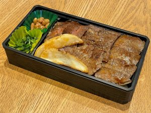近江牛ロースステーキ重